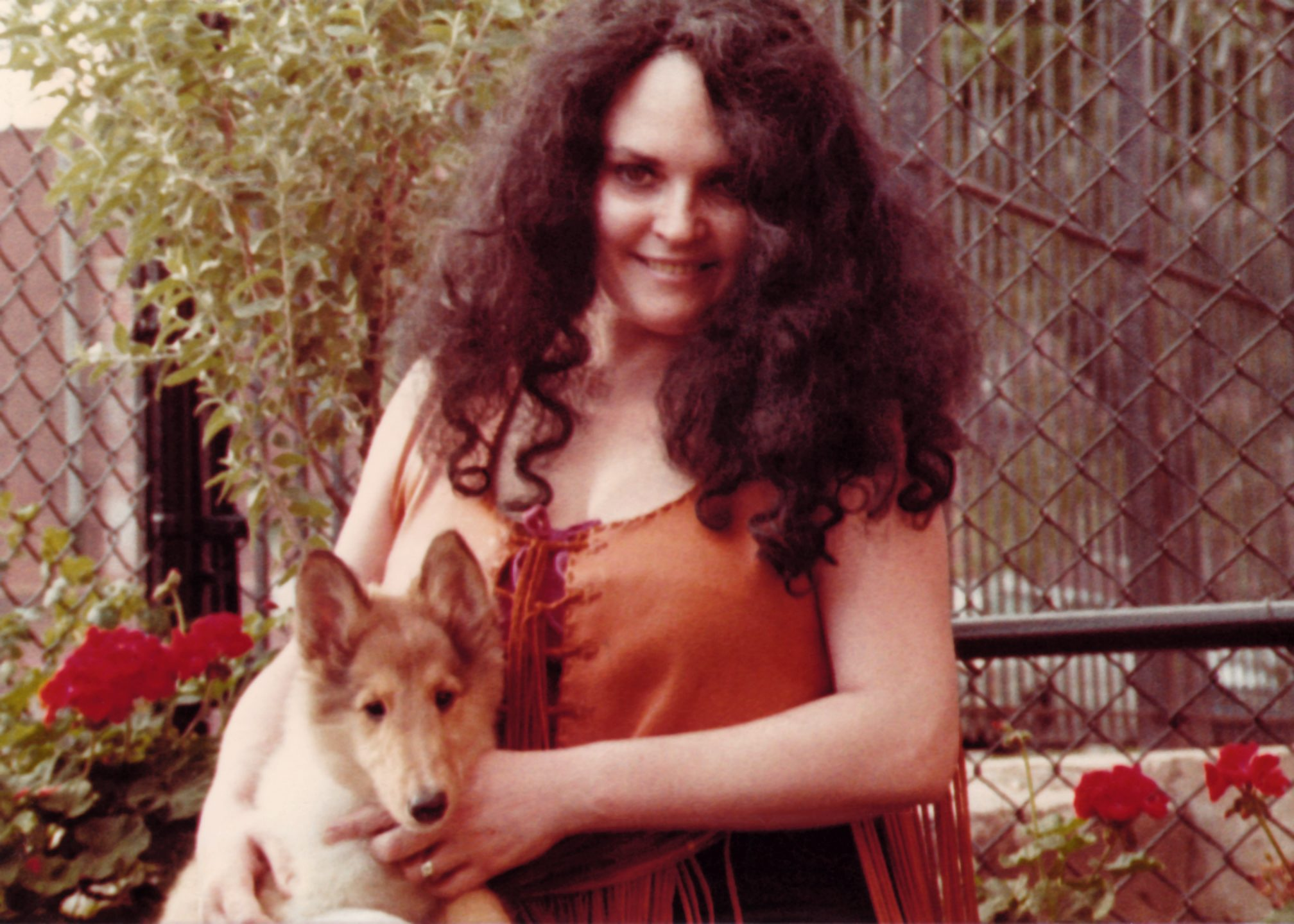 Carol with Dillinger as a Puppy