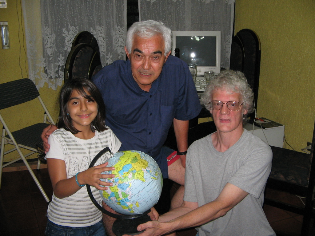 Andrea, Manuel and Randy in Heredia, Costa Rica